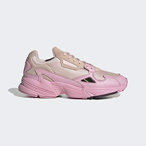 adidas Originals Women's Falcon Running Shoe, Ice True Pink/Chalk Purple, 10 M US (Best Junior Running Shoes)