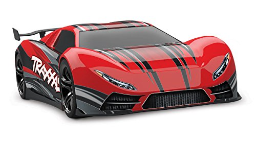 Traxxas XO-1 1/7 Scale AWD Supercar with TQi 2.4GHz Radio System & TSM, Red ()