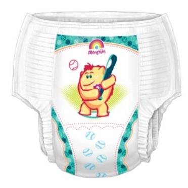 Curity Training Pants, Size (2T/3T, ()