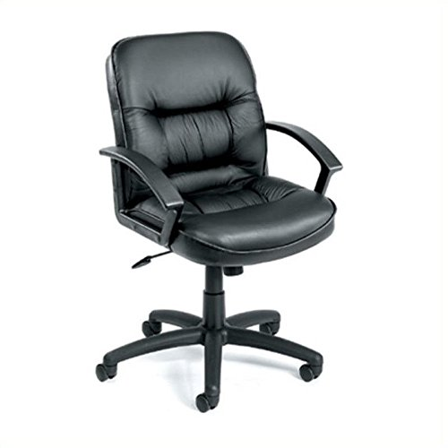 boss-office-products-b7307-mid-back-leatherplus-chair-with-knee-tilt-in-black