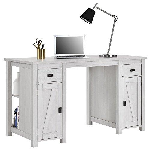 Ameriwood Home 9827884COM Farmington Craft Table, Ivory Pine