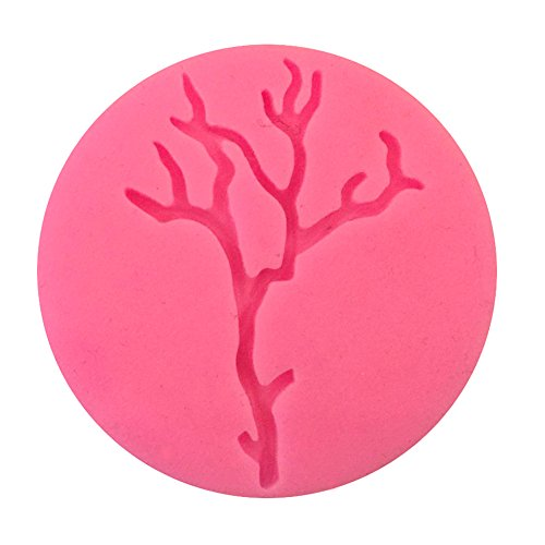 Sandalas Halloween Cake Mold Various Shaped Silicone Mold Fondant Cake Decorating Tools (Dead branches)