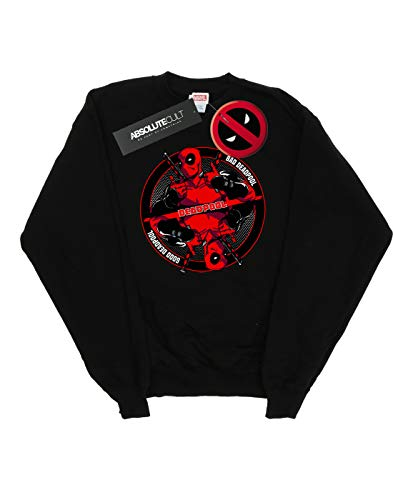 Bad Marvel Camisa Mujer Good Negro Entrenamiento Deadpool De 7O1tA