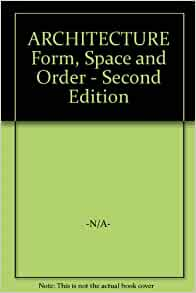 architecture form space and order book pdf