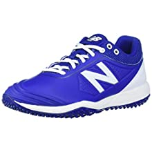 New Balance Women's Fuse V2 Turf Softball Shoe, Royal/White, 8.5 M US