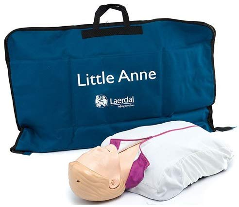 Laerdal Little Anne® CPR Training Manikin with Soft Pack/Training Mat (fits a single Little Anne Manikin)