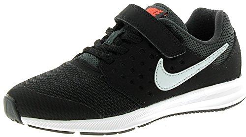Nike Unisex-Kinder Downshifter 7 (Psv) Fitnessschuhe, EU Schwarz