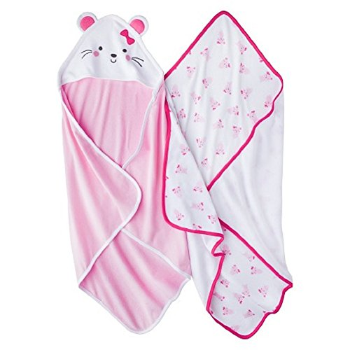 Carters Just Girls Mouse Towel