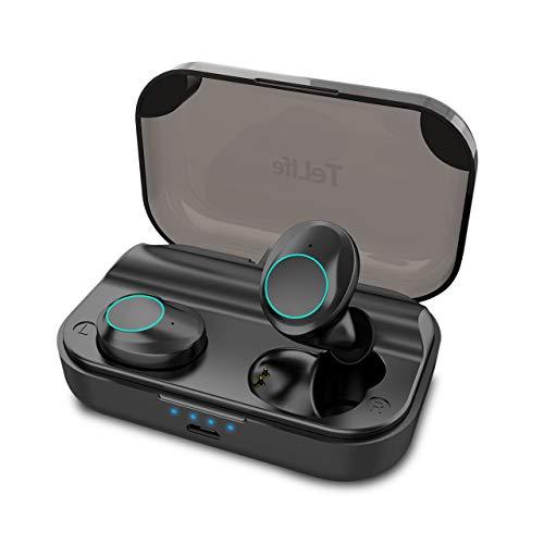 【進化版 bluetooth5.0】 ワイヤレス イヤホン Bluetooth イヤホン 自動ペアリング 日本語音声ガイド ブルートゥース イヤホン 120時間連続駆動 音量調節 IPX7防水 左右独立型 完全 ワイヤレス イヤホン 両耳通話 TeLife