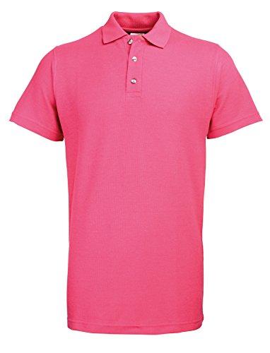 Polo in cotone/poliestere Rosa rosso