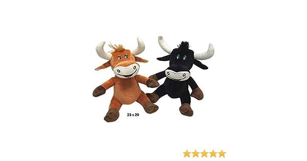 Desconocido Peluche Toro 23 cms x 20 cms 2 Surtido, 1 a Elegir: Amazon.es: Juguetes y juegos