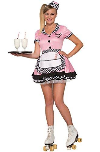 8eigh (Diner Waitress Halloween Costume)