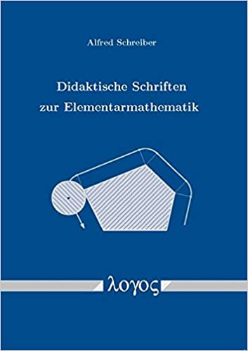 Book Didaktische Schriften Zur Elementarmathematik