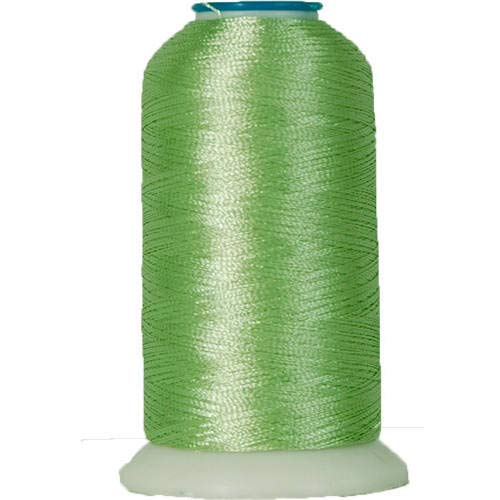 (Threadart Polyester Machine Embroidery Thread By the Spool - No. 353 - Light Grass Green - 1000M - 220 Colors Available)
