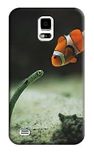 Sangu Fish Hard Back Shell Case / Cover for Samsung Galaxy S5