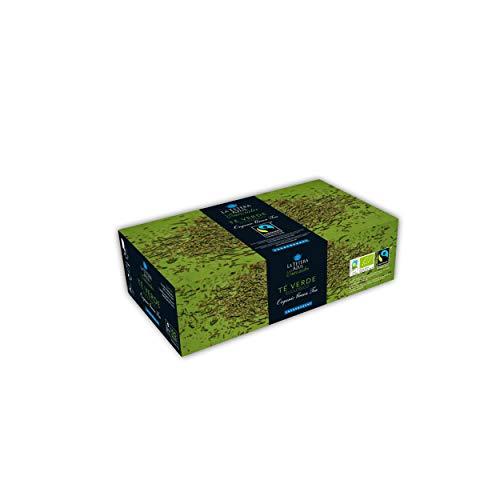 LA TETERA AZUL 100 Bolsitas De Te Verde Organico Con Hierbabuena Te Verde Ecologico Moruno Estilo Arabe Marroqui 100 Bolsitas De 1,5 Gramos