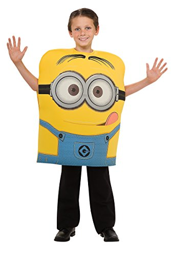 Despicable Me-Deluxe Minion Dave Child Costume - Medium (8-10)