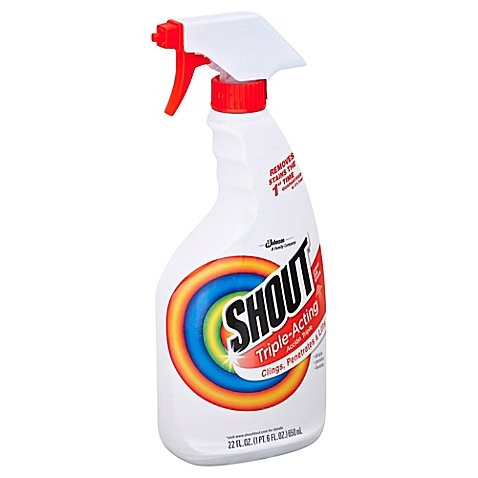 Shout 22 oz. Triple-Acting Stain Remover | Clings, Penetrates and - Scratch Remover Homemade