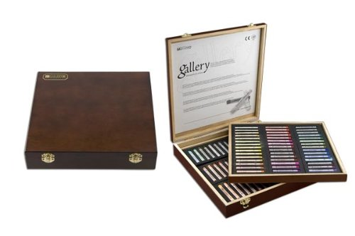 Smooth Blending Texture Non Toxic Soft Pastels Set of 64 Assorted Colors Ideal For All Artist Levels and Professionals Mungyo Gallery