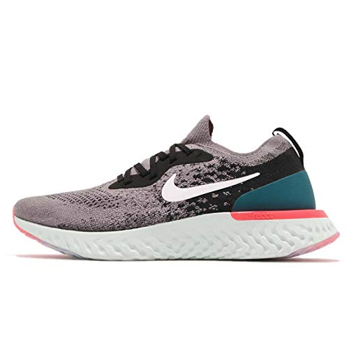 Gunsmoke Teal Basses NIKE Flyknit Homme Sneakers Multicolore React Epic Geode White 001 Black I1w1Pq0