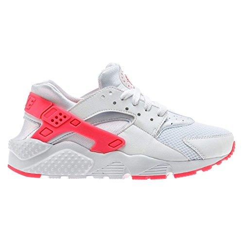 36eec94e1b5 Nike Huarache Run GS WhiteRacer Pink Sneakers Damen