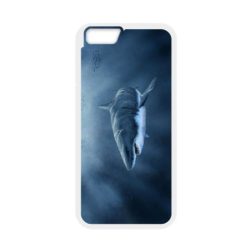 "LP-LG Phone Case Of Deep Sea Shark For iPhone 6 Plus (5.5"") [Pattern-3]"