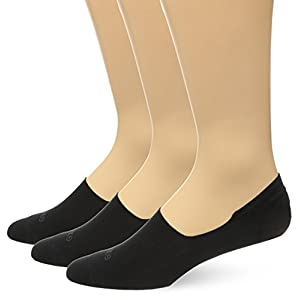 Gold Toe Men's Micro Flat Oxford No Show 3-Pack Sock, Black, Shoe Size 8-11/Sock Size 10-13
