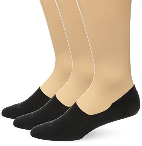 Gold Toe Men's Micro Flat Oxford No Show 3-Pack Sock, Black, Shoe Size 8-11/Sock Size 10-13