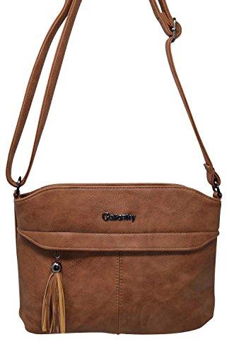 Gallantry - Brown Shoulder Bag For Woman Blue