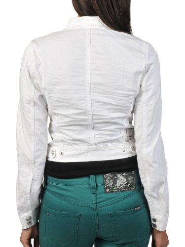 Pepe Jeans Pepe Blanc Jeans Blouson Femme rrazqU8w