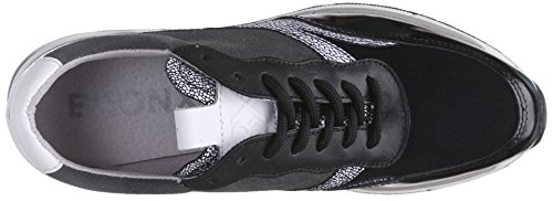 Bronx Damen Schwarz 1406 Sneakers Speckled Brodax Grey Black 4qzwzTn