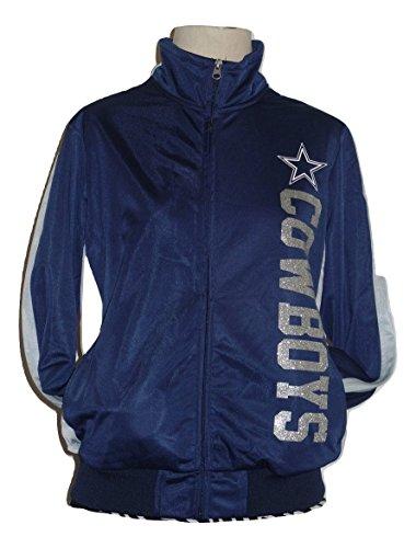 LSA Dallas Football Women's Drop Back Track Jacket - XL -