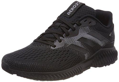 M Four Aerobounce Black Grey Negro de Running Core 0 Black Hombre Zapatillas para Adidas Core q5aZdOwO