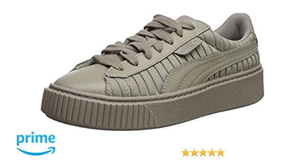 on sale 93e91 c92f4 PUMA Womens Basket Platform En Pointe Wn