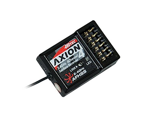 Hitec RCD Hitech RCD 27824 Axion 4 2.4 GHz Rx Receiver ()