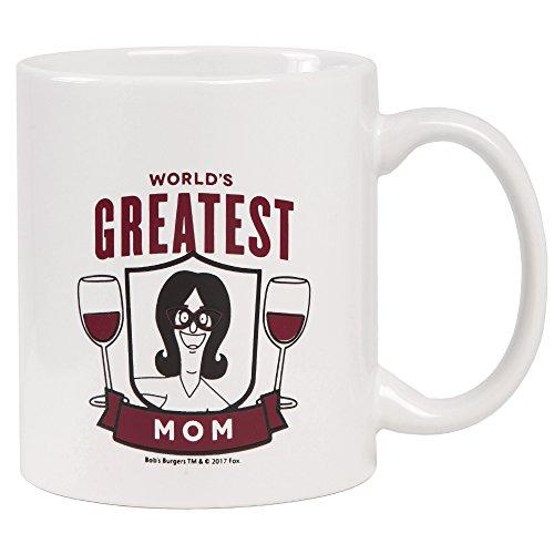 Ripple Junction Bob's Burgers World's Greatest Mom Mug ()