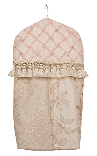 Glenna Jean Florence Diaper Stacker, Pink/Cream/Tan by Glenna Jean