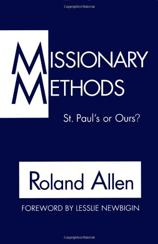 Download Missionary Methods: St. Paul's or Ours? pdf