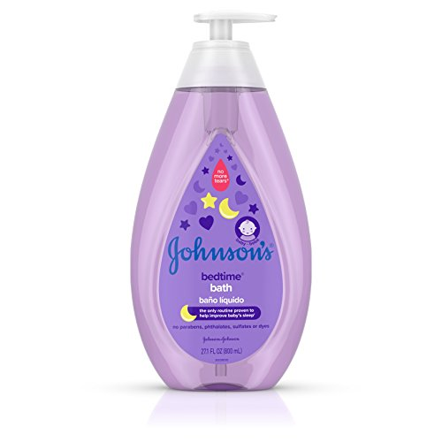Formula Bath (Johnson's Bedtime Baby Bath with Soothing NaturalCalm Aromas, Hypoallergenic & Tear Free Formula, 27.1 fl. oz)