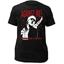 Against Me! Mens Reinventing AXL Rose Fitted Jersey T-Shirt