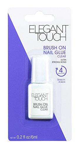 Elegant Touch Brush On Nagelkleber, 1er Pack (1 x 6 ml)