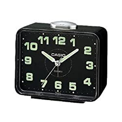 Casio #TQ218-1 Table Top Travel Alarm Clock