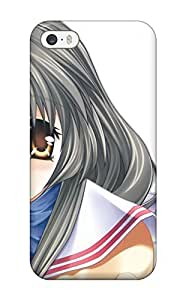 Protective Tpu Case With Fashion Design For Iphone 5/5s (clannad)