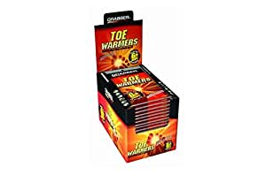 Grabber Warmers Grabber 6+ Hours Toe Warmers (8 PAIR)