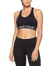 CALVIN KLEIN Women's Medium Impact Long Line Sports Bra