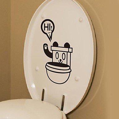 Cartone animato cane robot wc sticker wc postato amazon fai da te