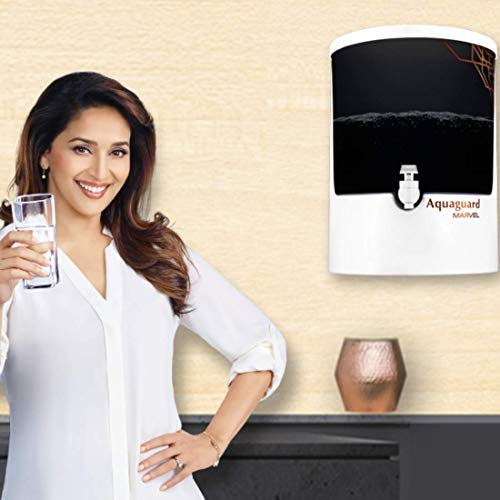Eureka Forbes Aquaguard Marvel 8L RO+UV e-boiling+MTDS with Active Copper Water Purifier (White & Black) Discounts Junction