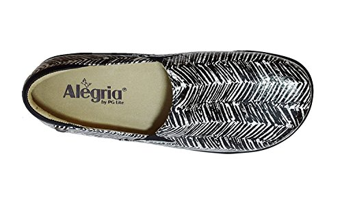Alegria Women's Keli Professional Shoe Unity Black & White outlet shop offer buy cheap low shipping fee free shipping low shipping cheap price outlet sale collections sale online Zr4R4z6