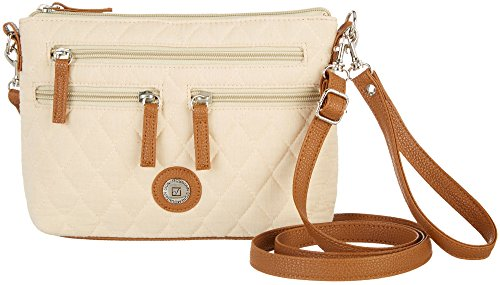 Stone Mountain All-In-One Quilted Handbag One Size Sand - Tan Quilted Bag