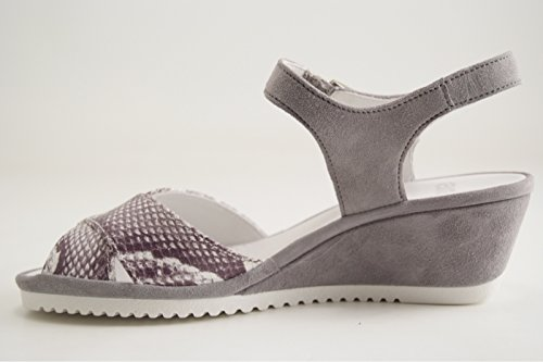 Ara - Sandalias de vestir de Piel para mujer Gris gris gris